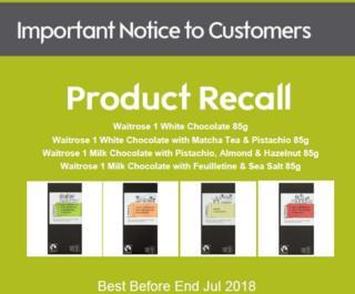 Waitrose recall agency