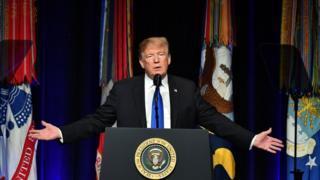 """Дональд Трамп представив """"Огляд політики в області протиракетної оборони"""" в Пентагоні"""