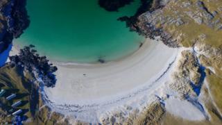 Achmelvich Beach in North West Sutherland