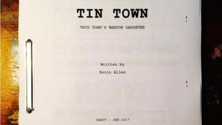 Draft script for Tin Town