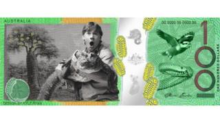 Currency with Steve Irwin on it