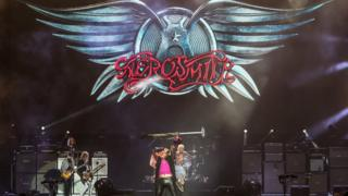 Aerosmith at Download 2017