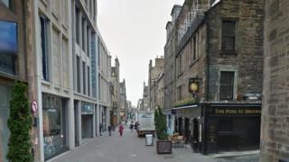 Rose Street in Edinburgh