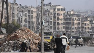 Развалины в Сирии