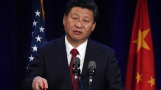 Chinese leader Xi Jinping speaks at the start of his US visit in Seattle on 22 September, 2015.