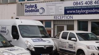 Taylor and Goodman office