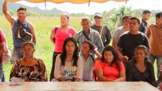Reunião de indígenas pemones
