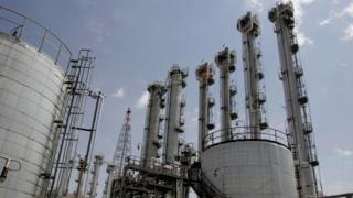 Arak nuclear facility - file pic
