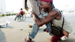 Wani gurgu a Lagos