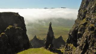 Bob Berry visited the Quiraing on Skye and found an amazing inversion.