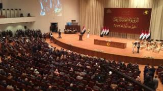 الدورة الرابعة للبرلمان العراقي بدأت اليوم 3 سبتمبر/أيلول