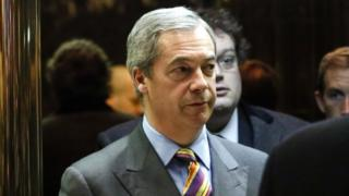 Nigel Farage at Trump Tower (15/12/16)