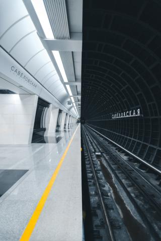 Metrostation by Alexandr Bormotin, Moscow, Russia.