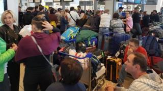 українці в аеропорту