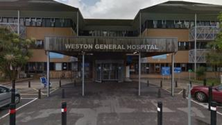 Coronavirus: Weston hospital Weston General Hospital