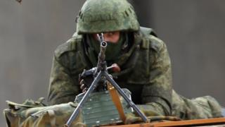 захват ВС Крыма