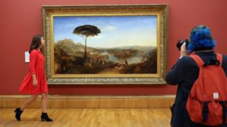 JMW Turner exhibition at the Tate Britain