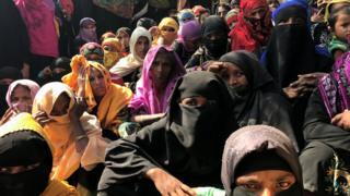 Rohignya, Myanmar, pengungsi