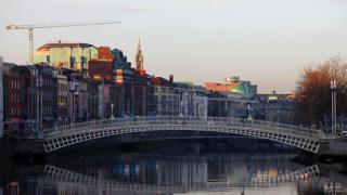 Dublin, the Liffey