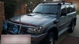 Camioneta 4x4 robada