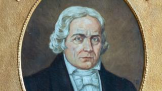José Bonifácio de Andrada e Silva, em quadro pintado
