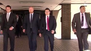 PC Rod James-Bowen, PC Nigel Cowley, PC Mark Jones and Det Con John Donohue