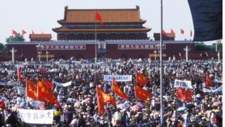 当时的北京街头