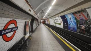 Deserted underground