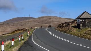 33rd Milestone, Mountain Road, Isle of Man