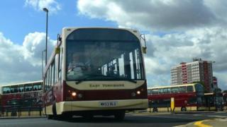 EYMS bus