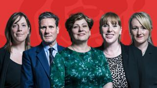 Possible candidates for Labour leader