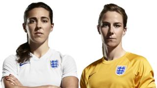 Fara Williams and Karen Bardsley