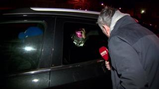 Kevin Magee tried to speak to Sharon Shanks