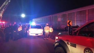 сша, авария поездов
