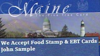 Image of sample Maine EBT card