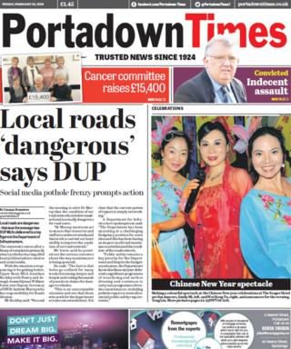 Portadown Times 23/02/18
