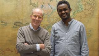 George Elliston and Tesfaye Temtime Tessema