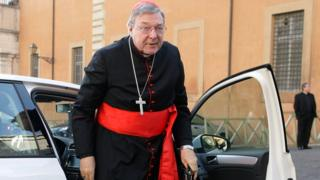 Cardinal George Pell is the treasurer of the Catholic Church