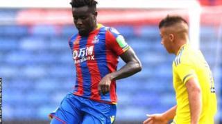 L'international sénégalais a joué 45 minutes pour l'équipe de Palace des moins de 23 ans