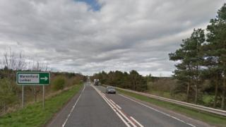 A1 in Northumberland