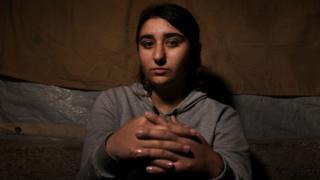 Ilham Dakhel Ali, joven yazidí