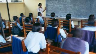 가나의 한 학교 (자료사진)