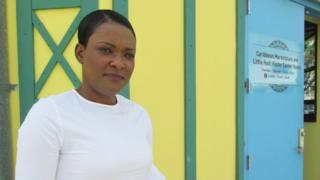 Emmanuella Fleurimont, terapista haitiana que vive en Miami.