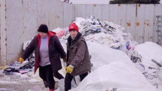 Работницы с Украины