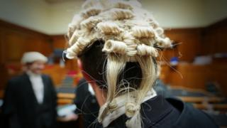 File image of a barrister