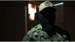 Un soldado venezolano.