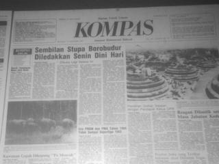 Bom Borobudur 1984