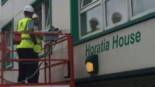 Work on Horatia House