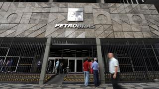 Petrobras' headquarters in Rio