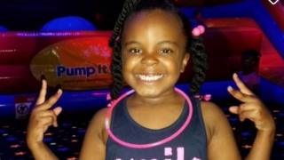 8-year-old DeMaree Atkins